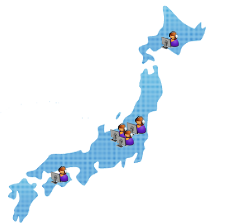 Klik Cloud is available from any location in Japan